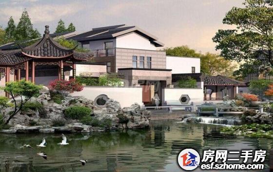 纯江南风格别墅苏州园林式设计