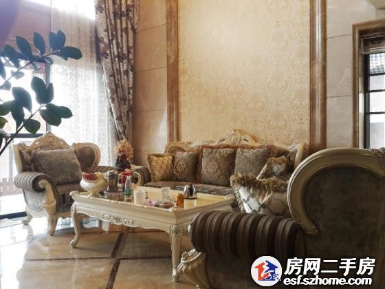 龙华星河丹堤 豪宅区 复式大四房 挑空客厅 欧式精装